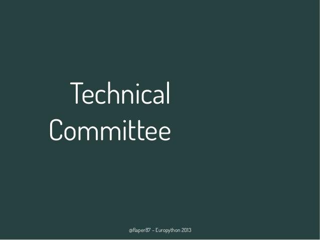 @flaper87 – Europython 2013 Technical Committee