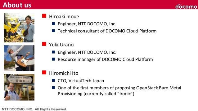 NTT Docomo's Challenge looking ahead the world pf 5G × OpenStack - OpenStack最新情報セミナー(2019年2月) Slide 2