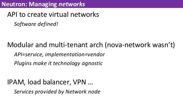 Openstack Workshop (Networking/Storage)