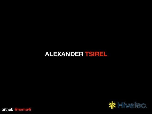 ALEXANDER TSIREL github @noma4i