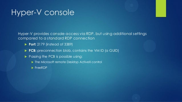 Hyper-V support for OpenStack Grizzly
