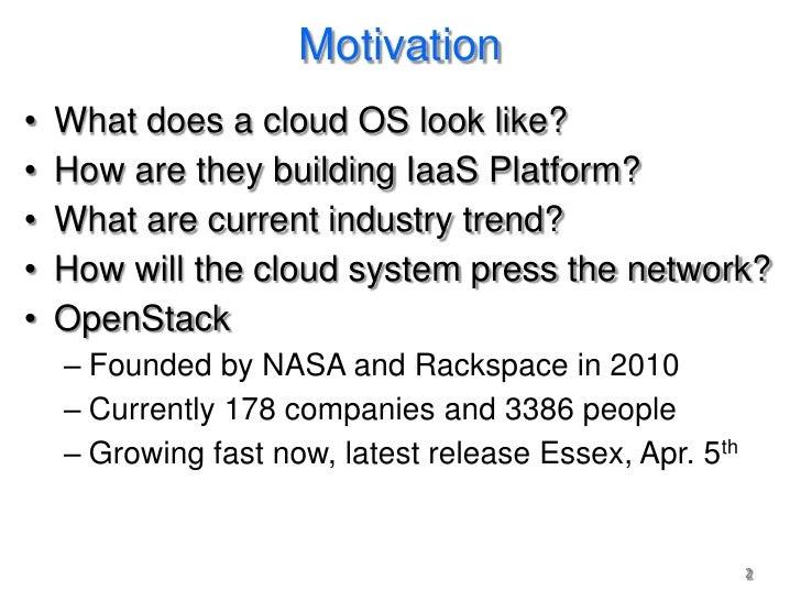 OpenStack Framework Introduction Slide 2