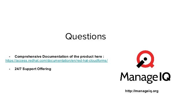 Openstack Cloud  Management and Automation Using Red Hat Cloudforms 4.0