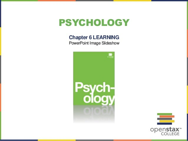 PSYCHOLOGY Chapter 6 LEARNING PowerPoint Image Slideshow