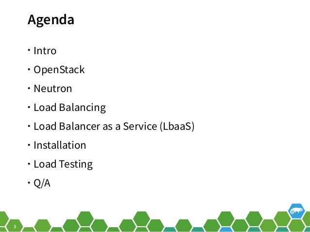 OpenStack Load Balancer as a Service (LBaaS) with openSUSE Leap Slide 3