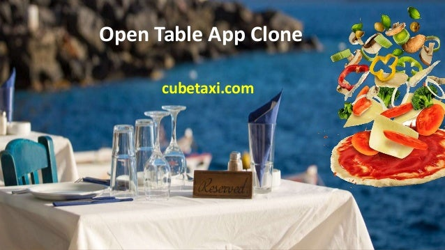 Open Table App Clone cubetaxi.com