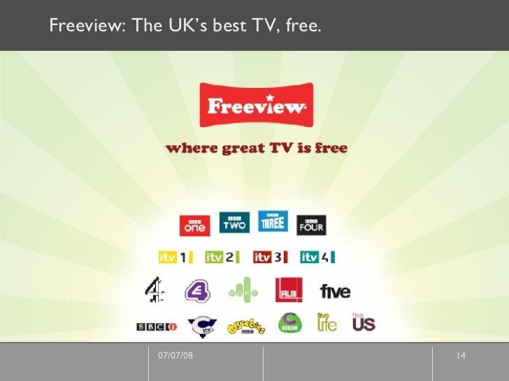 Freeview: The UK's best TV, free.