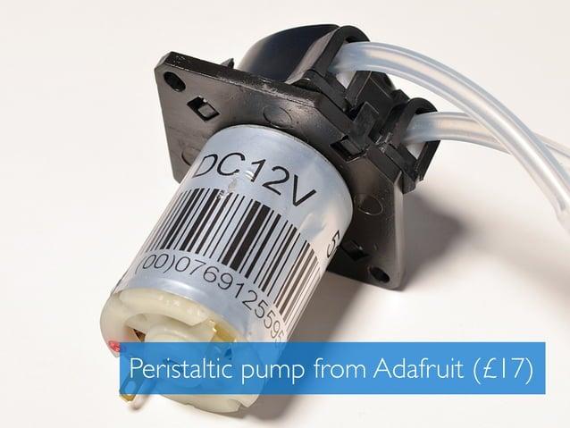 Peristaltic pump from Adafruit (£17)