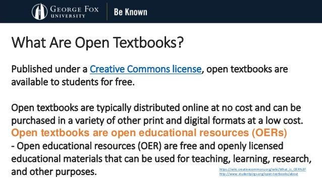An Open Textbook Initiative  Slide 2