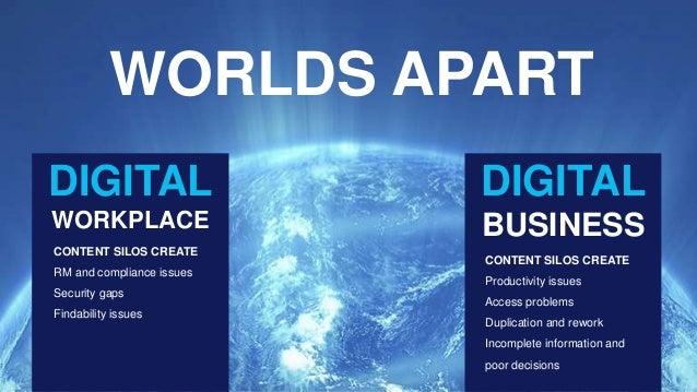 OpenText ECM - Connecting Content to your Digital Business Slide 3