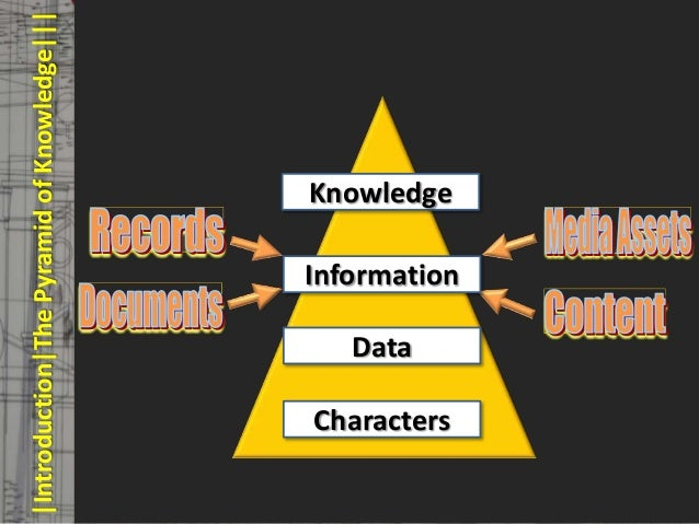|Introduction|The Pyramid of Knowledge|||   © PROJECT CONSULT Unternehmensberatung Dr. Ulrich Kampffmeyer GmbH 2011   / Au...