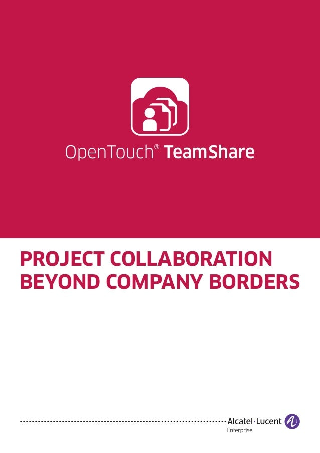 PROJECT COLLABORATION BEYOND COMPANY BORDERS