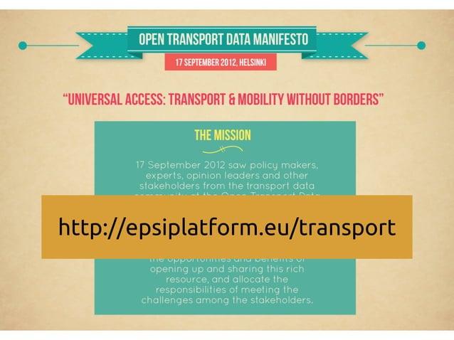 http://epsiplatform.eu/transport