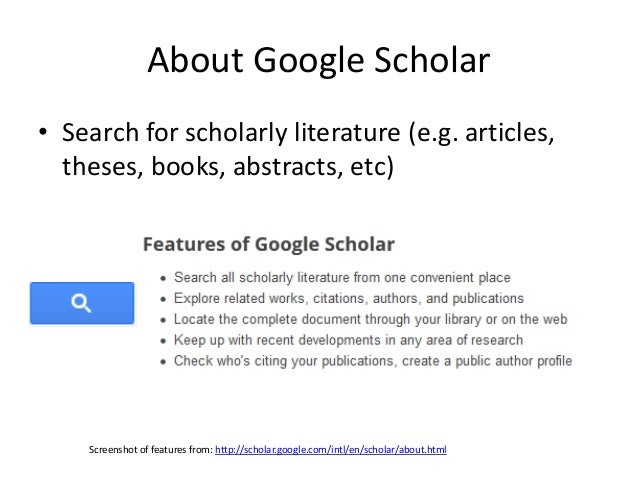 How to set up your google scholar profile google scholar citations the profile aka google scholar citations june 2014 2 ccuart Image collections