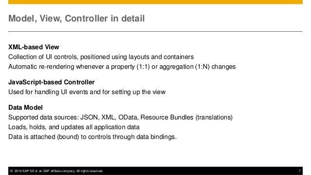 SAPUI5 & OpenUI5 for SAP InnoJam