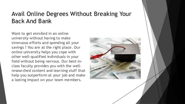 credibility of online degrees