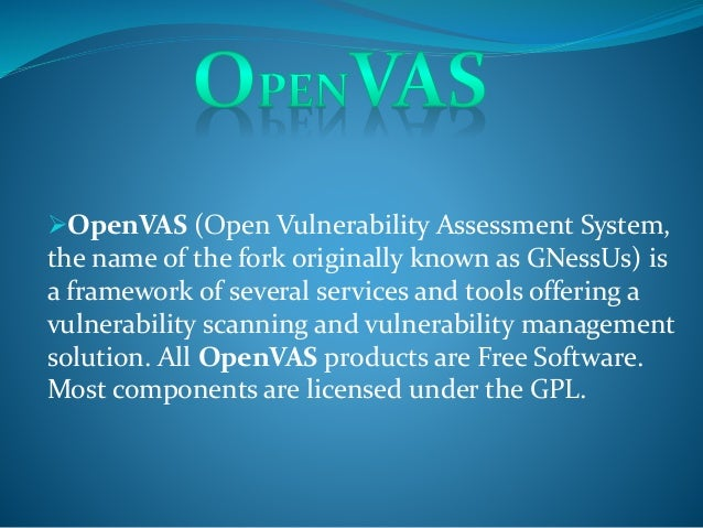 Open vas Slide 2