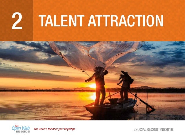 The world's talent at your fingertips #SOCIALRECRUITING2016 TALENT ATTRACTION2