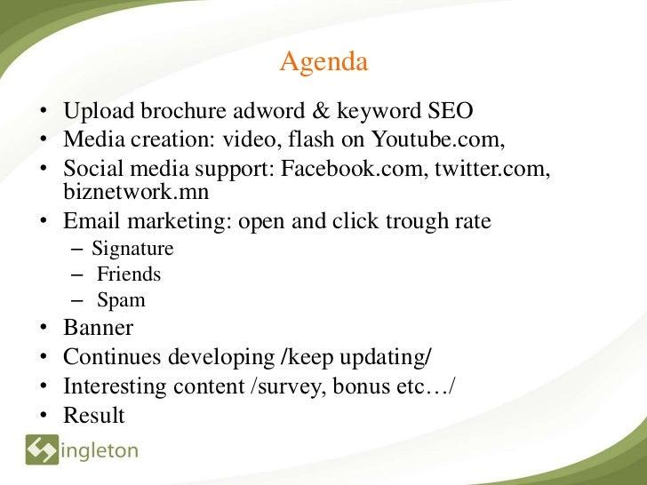 Open week internet marketing torol Slide 2