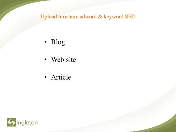 Open week internet marketing torol Slide 3