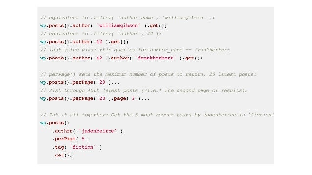 What the WordPress REST API Means for Javascript Developers