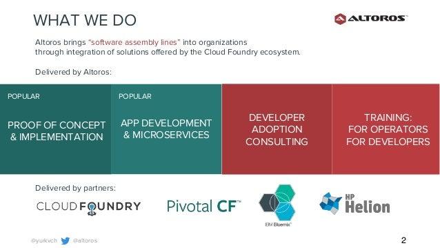 IBM Bluemix OpenWhisk: Cloud Foundry Summit 2016, Frankfurt, Germany: The Future of Cloud Programming Slide 2