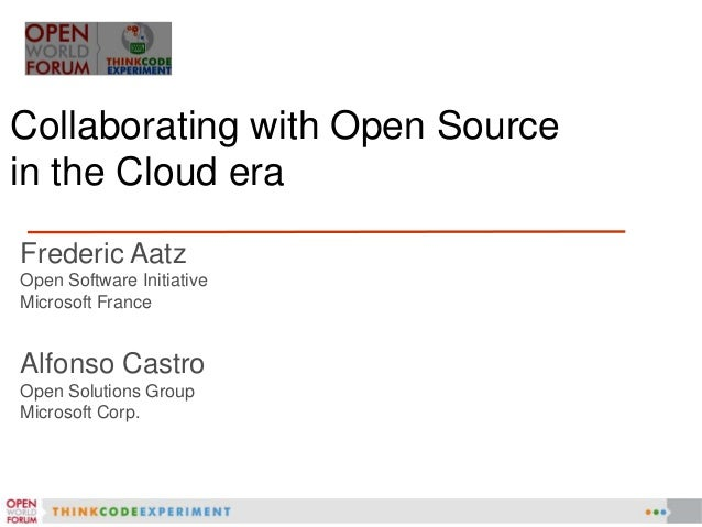 http://www.microsoft.com/openness   Play well           Listen to     Open in  with others         customers     the Cloud