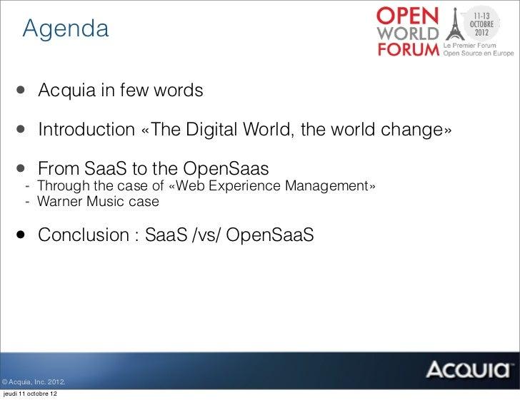 Open Saas brings freedom to the Cloud  Slide 2