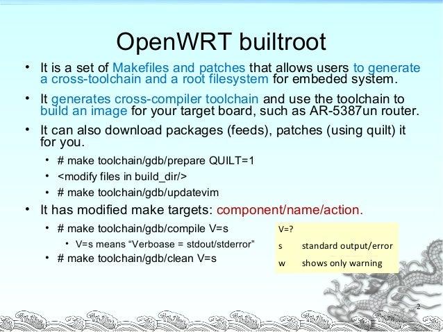 openwrt guide and memo rh slideshare net OpenWrt Interface OpenWrt Console