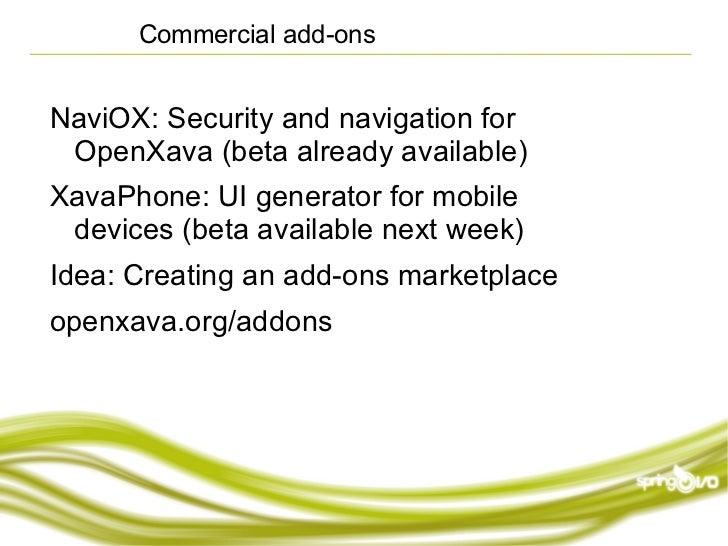OpenXava: Rapid Development for Business Applications
