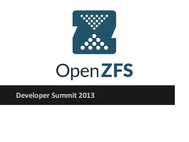 Developer Summit 2013