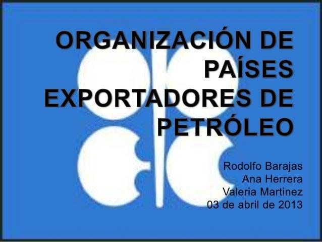OIG creada como respuesta a la baja delprecio oficial del petróleo impuesta por lasgrandes compañíasextranjeras distribui...