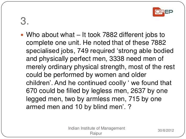 Operations Quiz - IIM Raipur