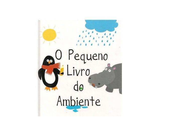 O pequeno livro do ambiente