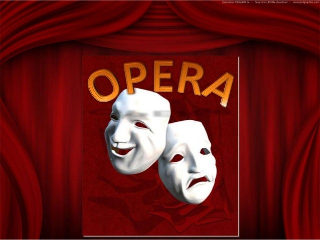 is one of the more popular and accessible forms of classical music. An opera is a theatrical presentation in which dramati...