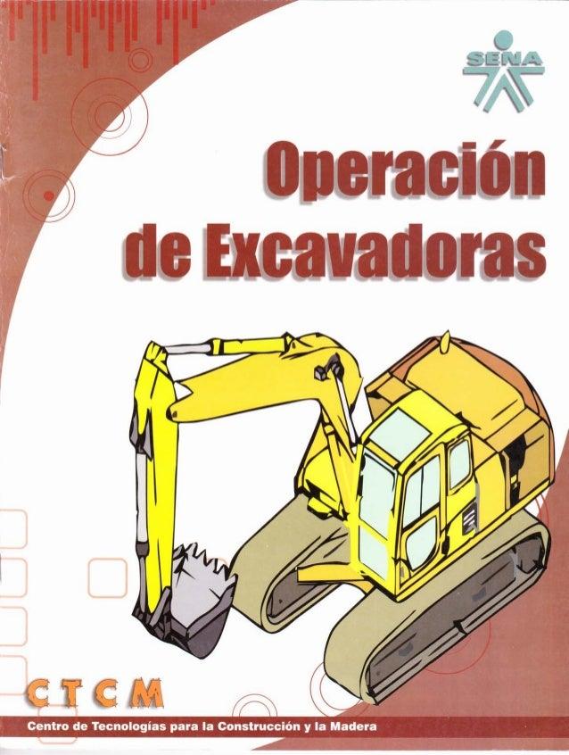 Operacion de excavadoras ctcm
