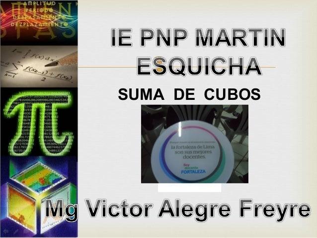  SUMA DE CUBOS