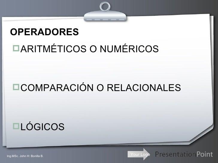 Operaciones basicas(2) Slide 2