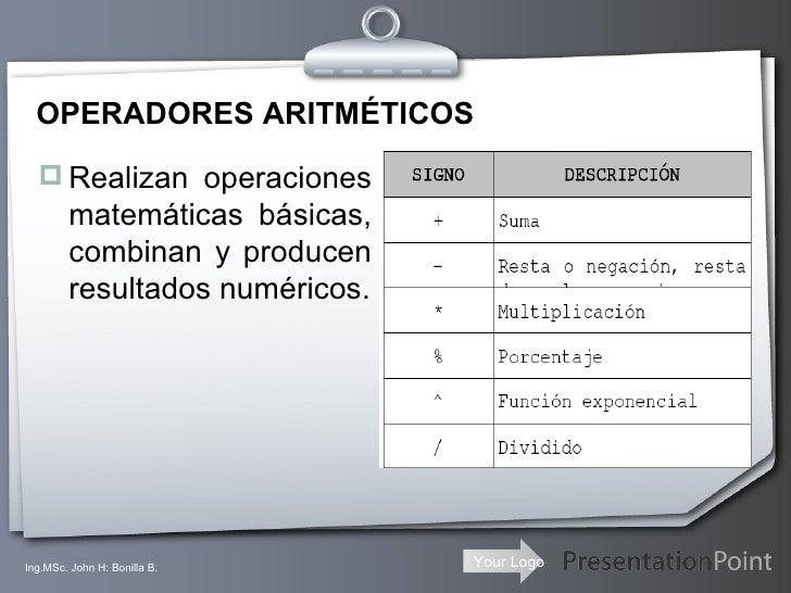 Operaciones basicas(2) Slide 3