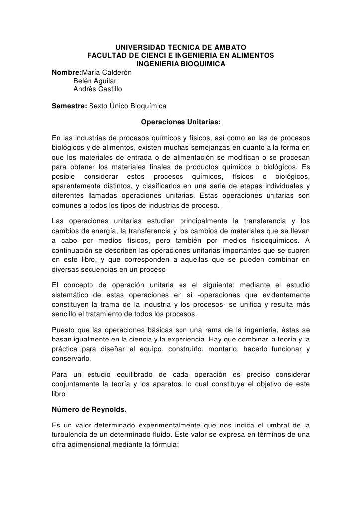 UNIVERSIDAD TECNICA DE AMBATO<br />FACULTAD DE CIENCI E INGENIERIA EN ALIMENTOS<br />INGENIERIA BIOQUIMICA<br />Nombre: Ma...