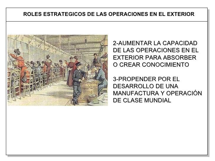 Operaciones globales beneficios de una planta en el exterior for Personal en el exterior