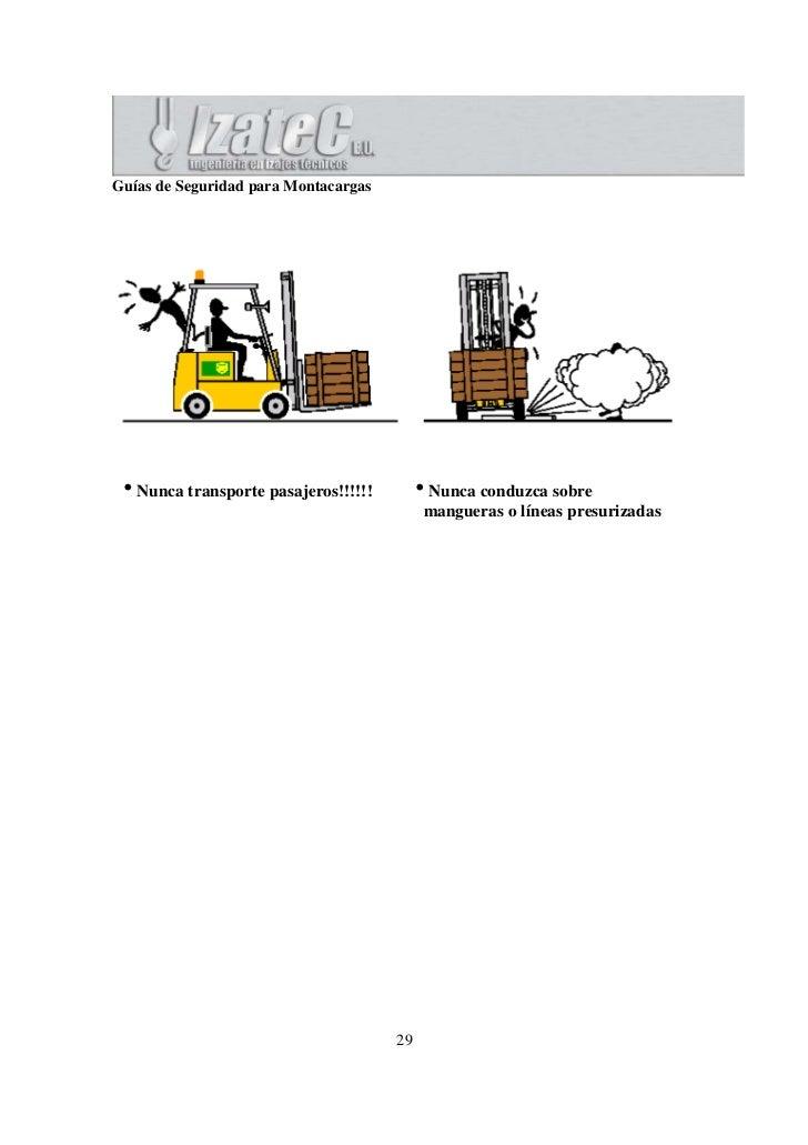 Operacion segura de montacargas - Precios montacargas para personas ...