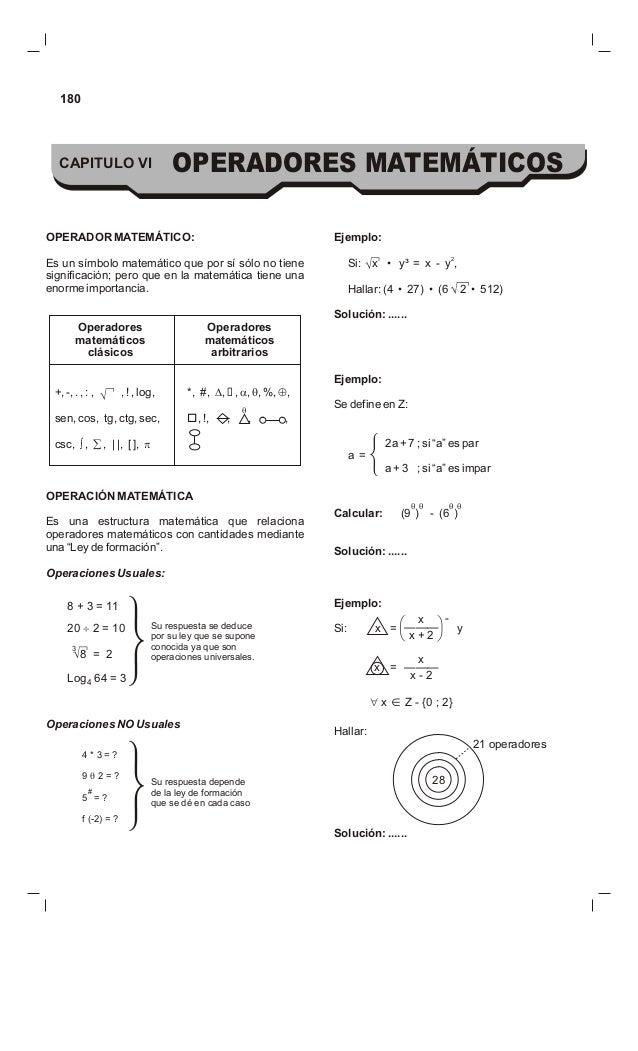 Operadores matematicos1