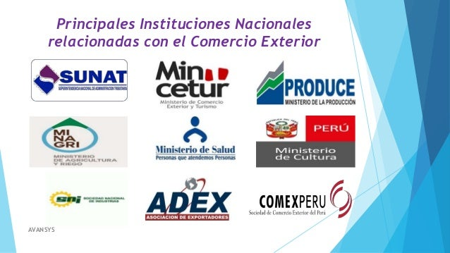 Operadores de comercio exterior for Docente comercio exterior