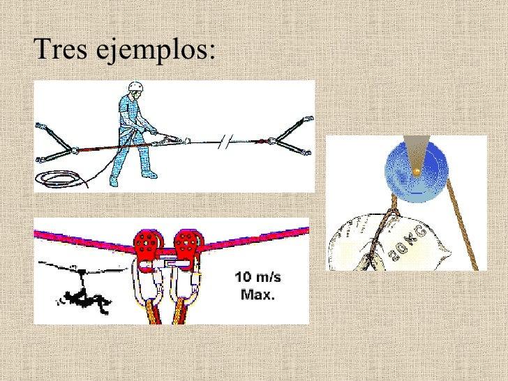 Tres ejemplos: