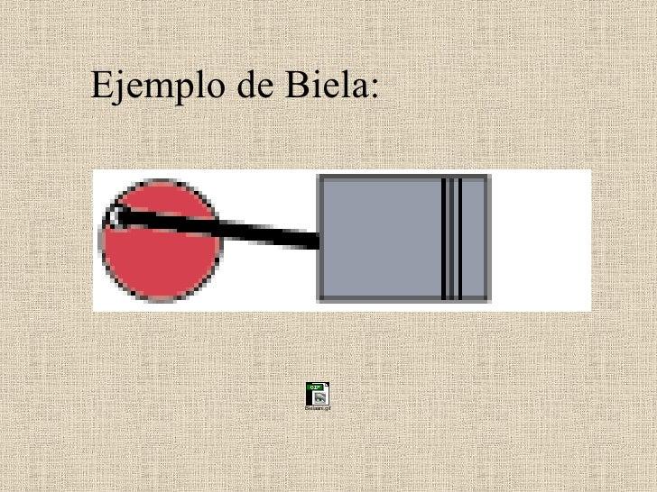 Ejemplo de Biela: