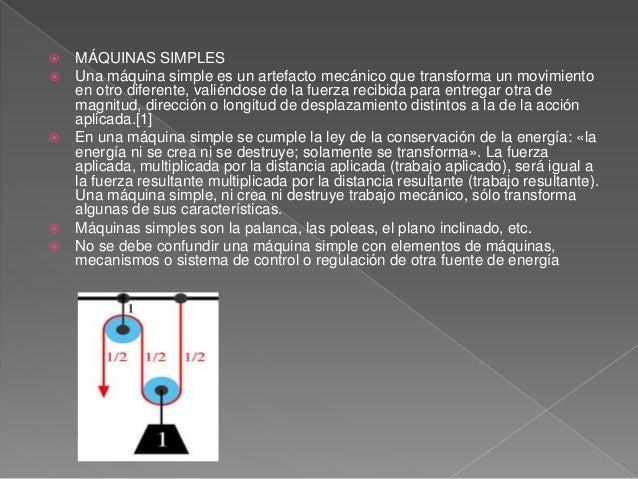 Operadores mecánicos Slide 2