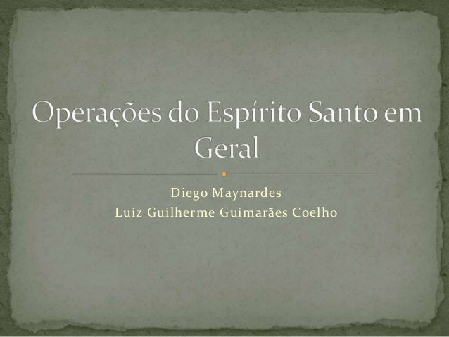 Diego Maynardes Luiz Guilherme Guimarães Coelho