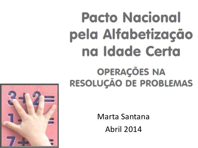 Marta Santana Abril 2014