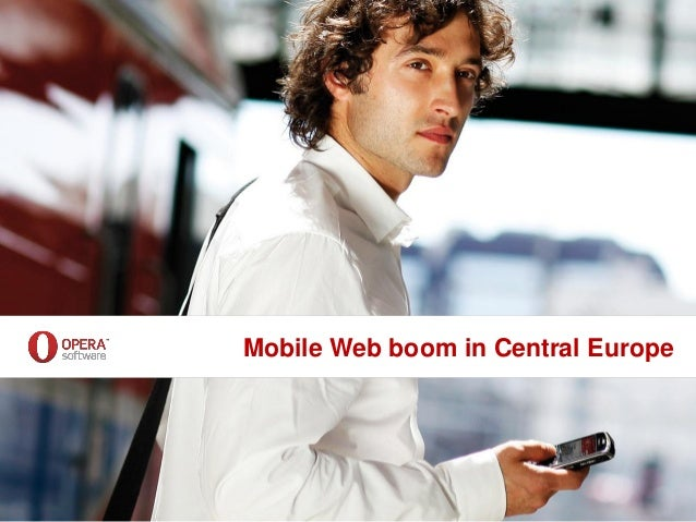 Mobile Web boom in Central Europe